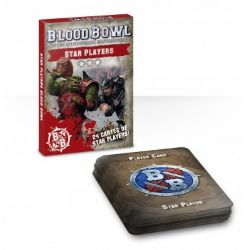 BLOOD BOWL -  24 CARTES DE STAR PLAYERS (FRENCH)