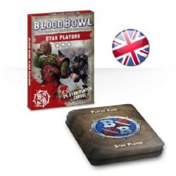 BLOOD BOWL -  24 STAR PLAYER CARDS (ENGLISH)