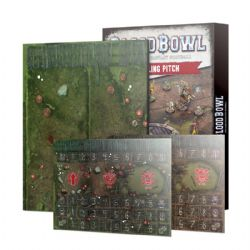 BLOOD BOWL -  DOUBLE-SIDED SNOTLING TEAM PITCH AND DUGOUT SET