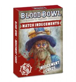 BLOOD BOWL -  MATCH INDUCEMENTS CARDS (ENGLISH)