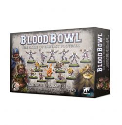 BLOOD BOWL -  MIDDENHEIM MAULERS TEAM (ENGLISH)