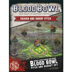 BLOOD BOWL -  SKAVEN AND DWARF PITCH (ENGLISH)