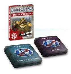 BLOOD BOWL -  SPECIAL PLAY CARDS - TEAM TITAN PACK (FRENCH)