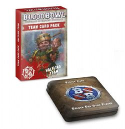 BLOOD BOWL -  TEAM CARD PACK - HAFLING (ENGLISH)