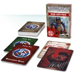 BLOOD BOWL -  TEAM CARD PACK - HUMAN TEAM (ENGLISH)