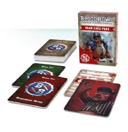 BLOOD BOWL -  TEAM CARD PACK - HUMAN TEAM (FRENCH)