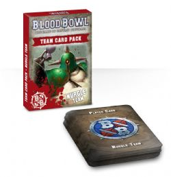 BLOOD BOWL -  TEAM CARD PACK - NURGLE (ENGLISH)