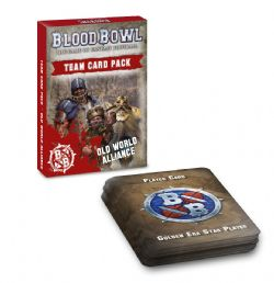 BLOOD BOWL -  TEAM CARD PACK - OLD WORLD ALLIANCE (ENGLISH)