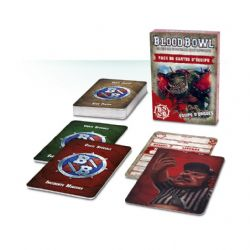BLOOD BOWL -  TEAM CARD PACK - ORC TEAM (FRENCH)