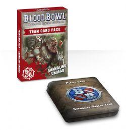 BLOOD BOWL -  TEAM CARD PACK - SHAMBLING (ENGLISH)