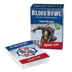 BLOOD BOWL -  TEAM CARD PACK - SKAVEN TEAM (ENGLISH)