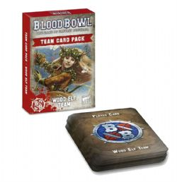 BLOOD BOWL -  TEAM CARD PACK - WOOD ELF (ENGLISH)