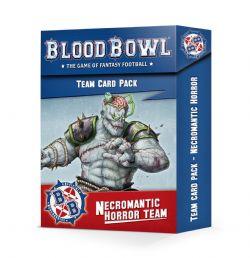 BLOOD BOWL -  TEAM CARDS (ENGLISH) -  NECROMANTIC HORROR TEAM