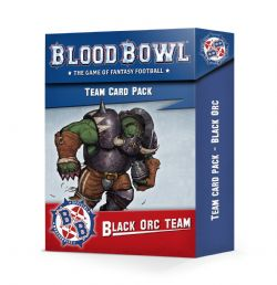 BLOOD BOWL -  TEAM CARDS PACK (ENGLISH) -  BLACK ORC