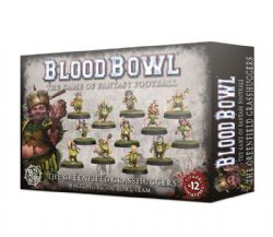 BLOOD BOWL -  THE GREENFIELD GRASSHUGGERS -  HAFLING TEAM