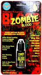 BLOOD -  ZOMBIE BLOOD FX - DARK DRYING BLOOD 15 G/0.53 OZ.