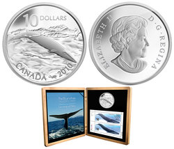 BLUE WHALE -  2010 CANADIAN COINS
