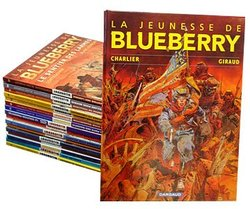 BLUEBERRY -  COLLECTION 21 ALBUMS -  LA JEUNESSE DE BLUEBERRY
