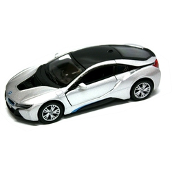 BMW -  I8 1/36 - SILVER