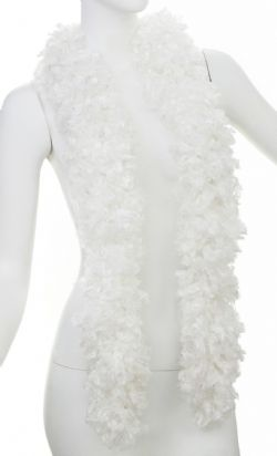 BOA -  FEATHER FREE SUPER BOA - WHITE