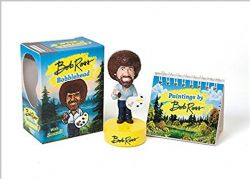 BOB ROSS -  BOB ROSS BOBBLEHEAD WITH SOUND!