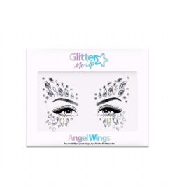 BODY JEWELS -  SKY ADHESIVE FACE JEWELS STICKER - ANGEL WINGS