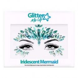 BODY JEWELS -  SKY ADHESIVE FACE JEWELS STICKER - IRIDESCENT MERMAID
