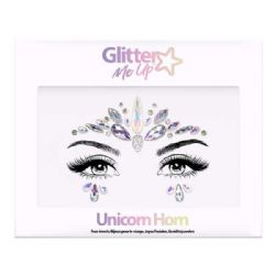 BODY JEWELS -  SKY ADHESIVE FACE JEWELS STICKER - UNICORN HORN