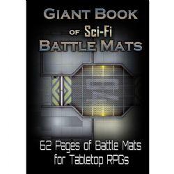 BOOK OF BATTLE MATS -  GIANT - SCI-FI