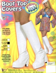 BOOT COVERS -  BLACK BOOT COVERS (WOMEN - ONE-SIZE)