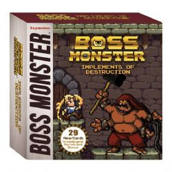BOSS MONSTER -  IMPLEMENTS OF DESTRUCTION (ENGLISH)