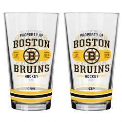 BOSTON BRUINS -  16 OZ GLASS