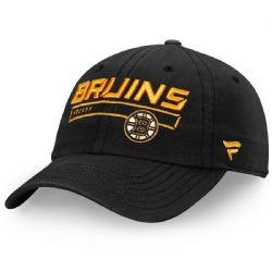 BOSTON BRUINS -  BLACK ADJUSTABLE CAP