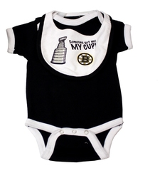 BOSTON BRUINS -  CREEPER + BABY BIB (BABY)