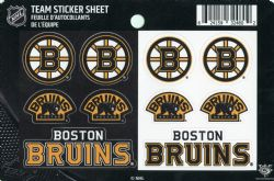 BOSTON BRUINS -  TEAM LOGO  - STICKER