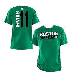 BOSTON CELTICS -  KYRIE IRVING #11 T-SHIRT - GREEN