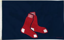 BOSTON RED SOX -  3' X 5' HORIZONTAL FLAG