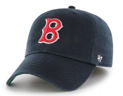 BOSTON RED SOX -  BLACK ADJUSTABLE CAP (YOUTH)