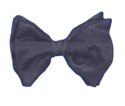 BOW TIE -  BOW TIE - BLACK (WITH ELASTIC)