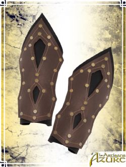 BRACERS -  MERCENARY BRACERS - BROWN/BLACK