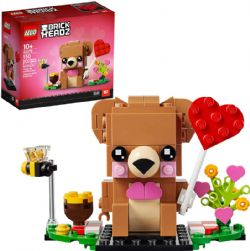 BRICK HEADZ -  VALENTINE'S BEAR 40379
