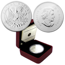 BRILLIANT DOLLARS -  100TH ANNIVERSARY OF PARKS CANADA -  2011 CANADIAN COINS