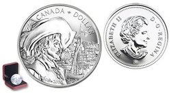 BRILLIANT DOLLARS -  400TH ANNIVERSARY OF QUEBEC CITY -  2008 CANADIAN COINS