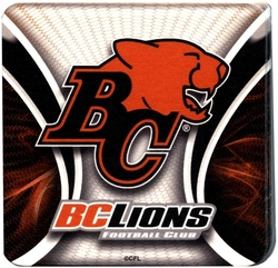 BRITISH-COLUMBIA LIONS -  COASTER SET (10)