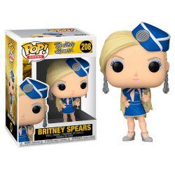 BRITNEY SPEARS -  POP! VINYL FIGURE OF BRITNEY SPEARS STEWARDNESS (4 INCH) 208