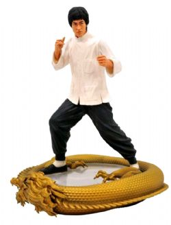 BRUCE LEE -  PREMIER COLLECTION 80TH ANNIVERSARY STATUE (11INCHES)