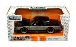 BUICK -  1987 GRAND NATIONAL 1/24 - BLACK