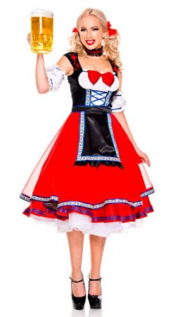 Bavarian -  Oktoberfest beer girl - X-Small (2-4)