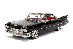 CADILLAC -  1959 COUPE DEVILLE 1/24 - BLACK