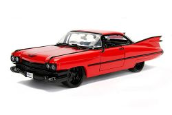 CADILLAC -  1959 COUPE DEVILLE 1/24 - RED